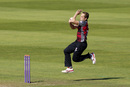 Josh Davey took two top-order wickets, Somerset v Worcestershire, Royal London One-Day Cup quarter-finals, Taunton, August 17, 2016