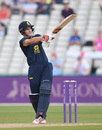 Sam Hain bats for Warwickshire, Warwickshire v Essex, Royal London One-Day Cup quarter-finals, Edgbaston, August 17, 2016
