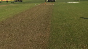 The surface at Kingsmead had a smattering of grass