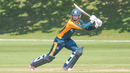 Matthew Stokes strikes a boundary through cover, Guernsey v Nigeria, ICC World Cricket League Division Five, St Saviour, May 24, 2016