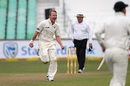 Neil Wagner is thrilled after taking a wicket, South Africa v New Zealand, 1st Test, Durban, 1st day, August 19, 2016