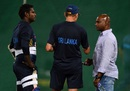 Angelo Mathews, Graham Ford and Sanath Jayasuriya plot Sri Lanka's progress, Colombo, August 19, 2016