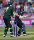Ben Duckett scoops past the wicketkeeper, Nottinghamshire v Northamptonshire, NatWest T20 Blast, 1st semi-final, Edgbaston, August 20, 2016