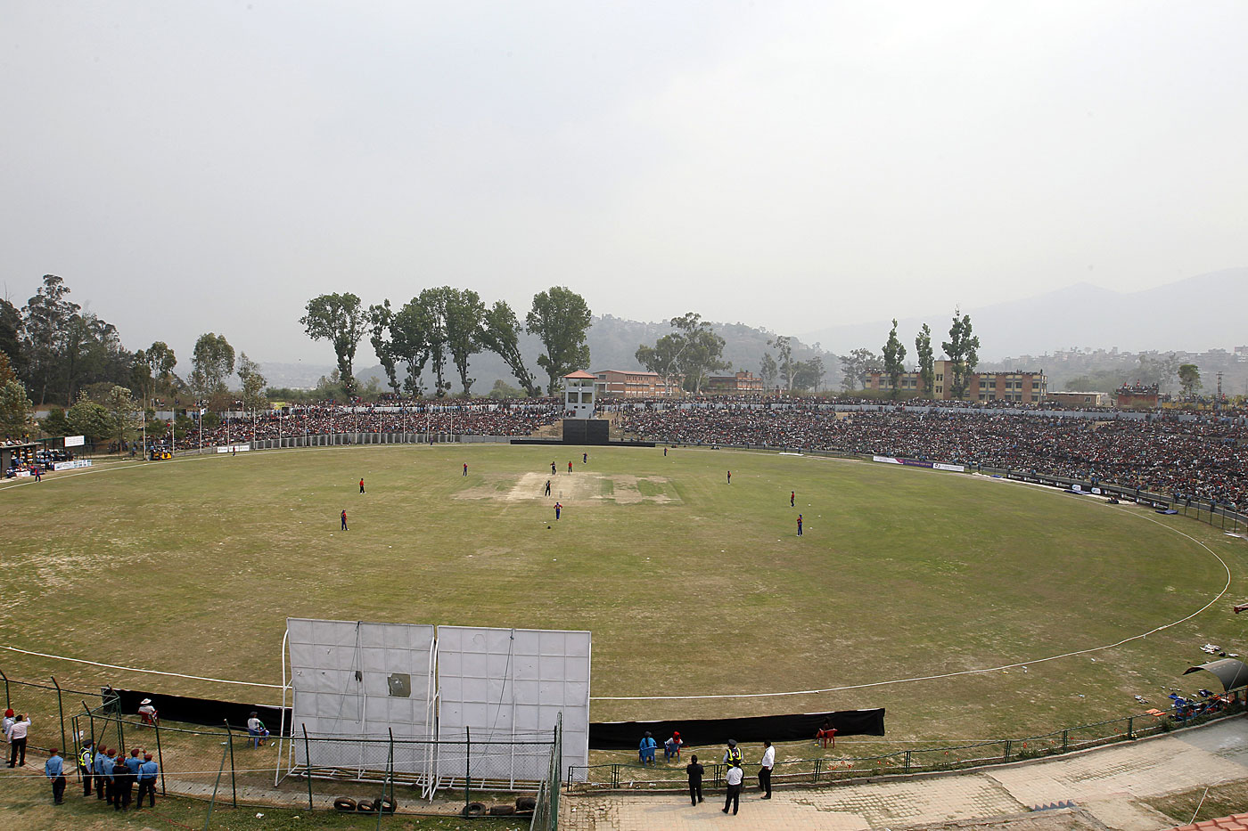Kathmandu hosted two games of the WCL Championship in April. Nepal beat Namibia in both, in front of packed crowds