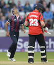 Azharullah took a return catch off Mark Stoneman, Durham v Northamptonshire, NatWest T20 Blast final, Edgbaston, August 20, 2016