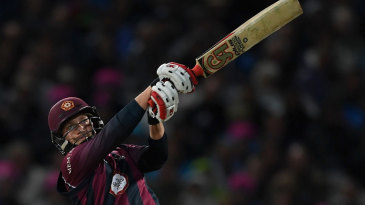 Josh Cobb struck 80 from 48 balls to guide the chase