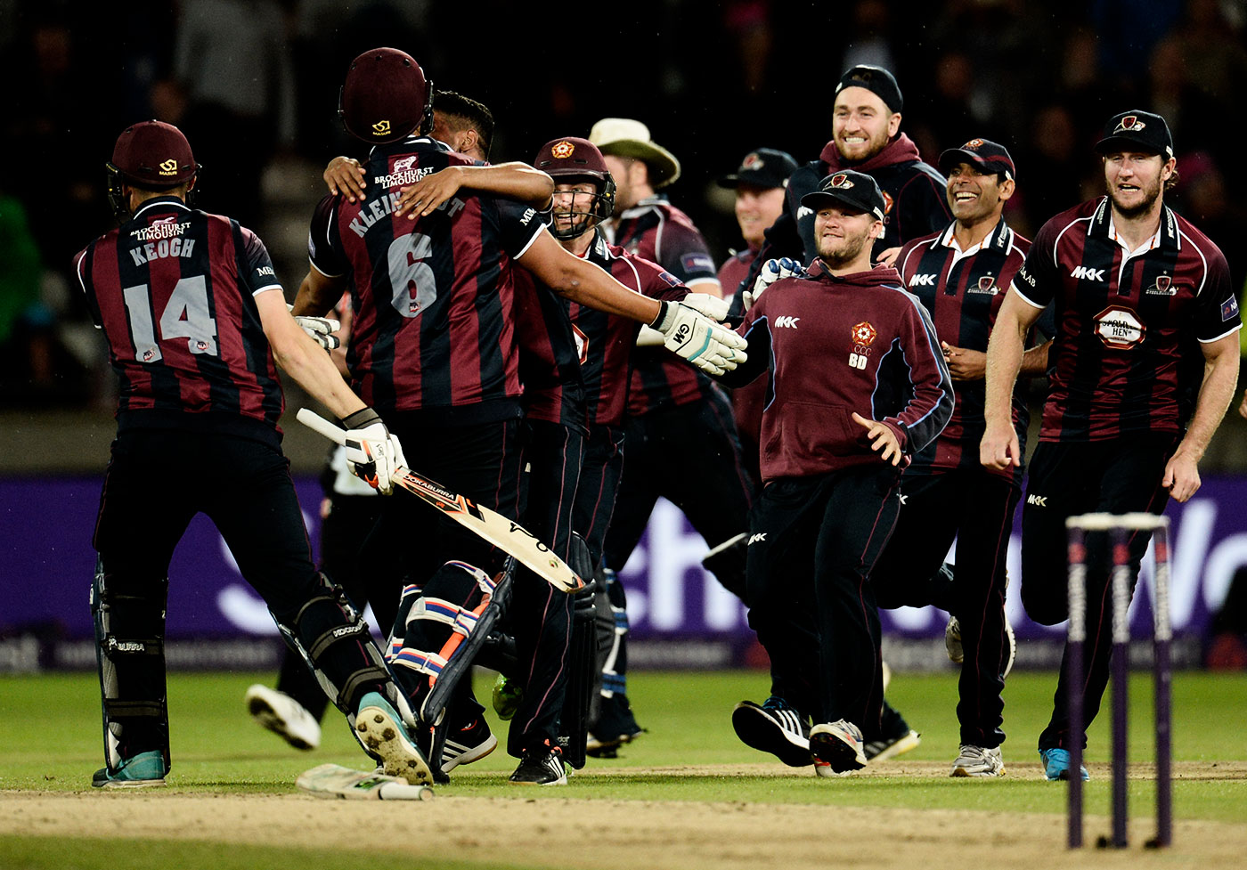 Northamptonshire have been poster boys for data-driven success in cricket
