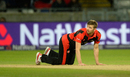 Mark Wood had returns of 1 for 25 in four overs, Durham v Northamptonshire, NatWest T20 Blast final, Edgbaston, August 20, 2016