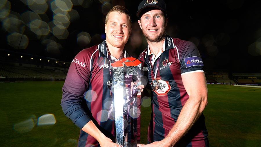 Josh Cobb and Alex Wakely played important knocks in Northamptonshire's chase