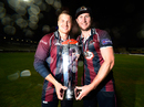 Josh Cobb and Alex Wakely played important knocks in Northamptonshire's chase, Durham v Northamptonshire, NatWest T20 Blast final, Edgbaston, August 20, 2016