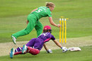 Heather Knight completes the run out of Amy Jones, Western Storm v Loughborough Lightning, Women's Super League, Semi-final, Chelmsford, August 21, 2016