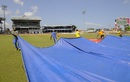 The wet outfield kept the ground staff busy on the fifth day too, West Indies v India, 4th Test, Port of Spain, 5th day, August 22, 2016