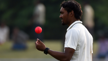 Sandeep Sharma was the most successful bowler for India Green with 4 for 62