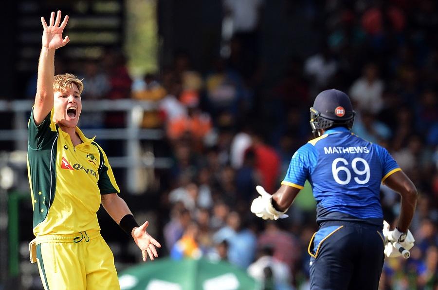Faulkner claims hat-trick against Sri Lanka