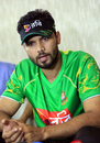 Mashrafe Mortaza at a press conference in Mirpur, August 24, 2016