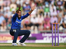 Adil Rashid won an lbw to remove Babar Azam, England v Pakistan, 1st ODI, Ageas Bowl, August 24, 2016