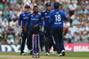 Adil Rashid removed Azhar Ali for 82, England v Pakistan, 1st ODI, Ageas Bowl, August 24, 2016