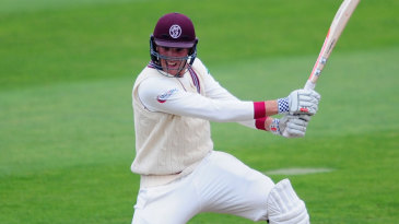 Craig Overton finished the day three runs short of a hundred