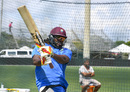 Chris Gayle hits one out with a pull, Lauderhill, August 25, 2016