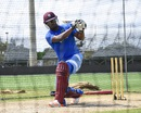 Johnson Charles has a hit at the nets, Lauderhill, August 26, 2016