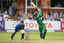 Shoaib Malik struck Pakistan's first six of the series, England v Pakistan, 2nd ODI, Lord's, August 27, 2016