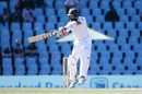 Hashim Amla stands tall and punches one to the off side, South Africa v New Zealand, 2nd Test, Centurion, 1st day, August 27, 2016
