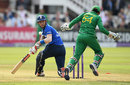 Alex Hales was bowled sweeping at Imad Wasim, England v Pakistan, 2nd ODI, Lord's, August 27, 2016