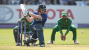 Eoin Morgan plays a reverse sweep, England v Pakistan, 2nd ODI, Lord's, August 27, 2016
