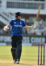 Joe Root brings up his half-century, England v Pakistan, 2nd ODI, Lord's, August 27, 2016