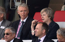 The Prime Minister, Theresa May, was a guest at the ODI, England v Pakistan, 2nd ODI, Lord's, August 27, 2016