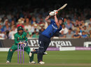Ben Stokes played a lovely straight drive for six, England v Pakistan, 2nd ODI, Lord's, August 27, 2016