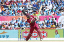 Carlos Brathwaite clubs one down the ground, India v West Indies, 1st T20I, Florida, August 27, 2016