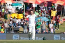 Faf du Plessis struck his fifth Test century, South Africa v New Zealand, 2nd Test, Centurion, 2nd day, August 28, 2016
