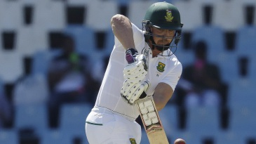 Stiaan van Zyl nudges one to the leg side