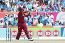 Johnson Charles brings out the pull shot, India v West Indies, 2nd T20I, Florida, August 28, 2016