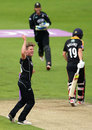Stuart Meaker went through Yorkshire's middle order, Yorkshire v Surrey, Royal London Cup, Semi-final, Headingley, August 28, 2016
