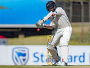 Kane Williamson shapes to cut, South Africa v New Zealand, 2nd Test, Centurion, 3rd day, August 29, 2016
