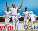 Vernon Philander exults after dismissing Mitchell Santner, South Africa v New Zealand, 2nd Test, Centurion, 3rd day, August 29, 2016