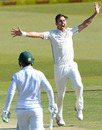 Trent Boult goes up in an appeal, South Africa v New Zealand, 2nd Test, Centurion, 3rd day, August 29, 2016