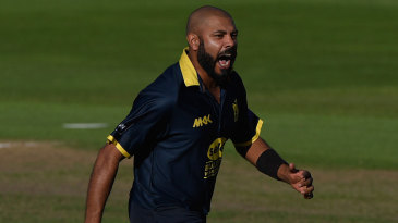 Jeetan Patel claimed a five-wicket haul - all lbw