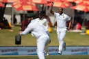 Vernon Philander exults after dismissing Kane Williamson, South Africa v New Zealand, 2nd Test, Centurion, 4th day, August 30, 2016