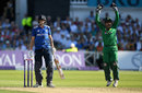 Joe Root fell for 85 after edging a catch to Sarfraz Ahmed, England v Pakistan, 3rd ODI, Trent Bridge, August 30, 2016