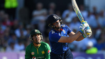 Jos Buttler cracked six sixes in reaching his half-century