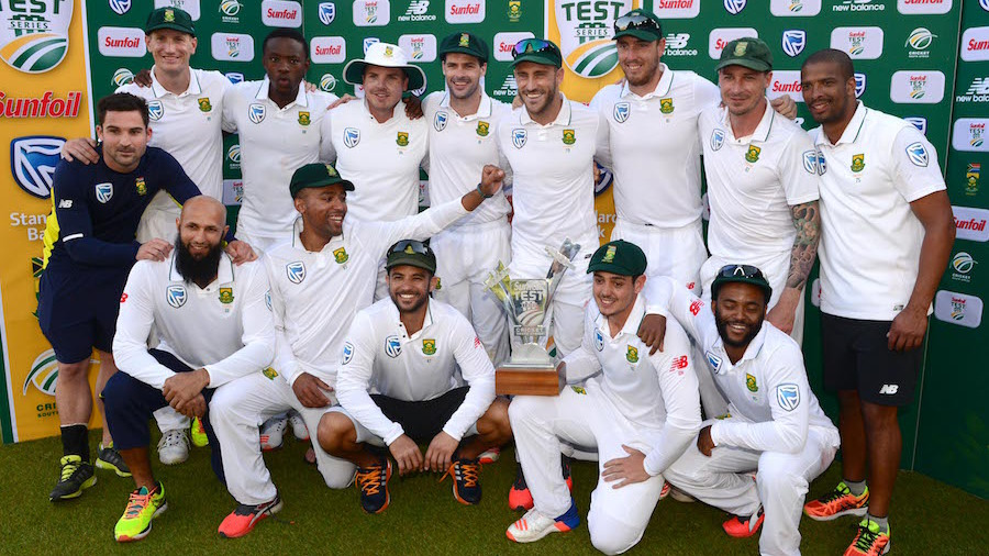 South Africa won the series 3-1. (Cricinfo)
