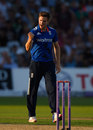 Chris Woakes struck three times in his opening spell, England v Pakistan, 3rd ODI, Trent Bridge, August 30, 2016
