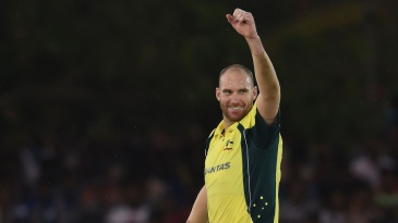 John Hastings picked up his maiden five-wicket haul