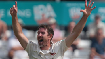 David Masters collected a seven-wicket haul