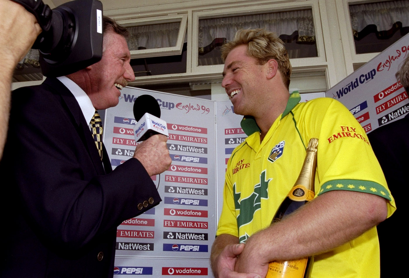 Man of the Match in the greatest match ever: that's Warne for you
