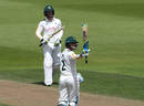 Nottinghamshire opener Jake Libby acknowledges the applause