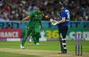 Umar Gul dismissed Eoin Morgan to leave England in trouble at 72 for 4, England v Pakistan, 4th ODI, Headingley, September 1, 2016
